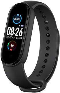 Geneic M5 Sport Fitness Tracker Smartband Pulsera Inteligente Presión Arterial Monitor de Frecuencia Cardíaca Smart Band Pulsera Hombres Mujeres