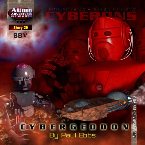 Cybergeddon audiobook cover art