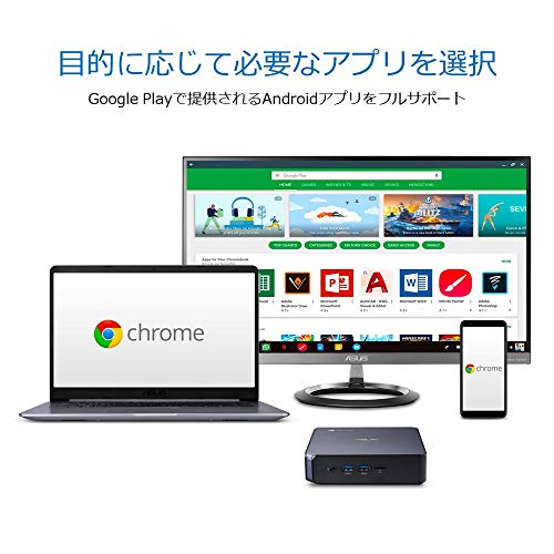 51vuMavadEL-ASUSが「Chromebox 4」を海外でリリース。第10世代インテルCPU搭載、デザインは大きく変わらず