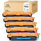 5 Superpage Kompatibel für Brother TN-242 TN-242 Multipack Toner für Brother DCP-9017CDW DCP-9022CDW HL-3152CDW HL-3172CDW HL-3142CW MFC-9142CDN MFC-9332CDW MFC-9342CDW(2Schwarz/1Cyan/1Magenta/1Gelb)