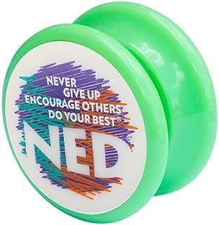 NED® Yo-Yo (Green) Glow-in-the-dark face