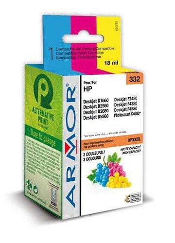 Für HP Deskjet D 2530 - XL Color Patrone, Armor wiederaufbereitete Druckerpatrone für DJ D2530, 18ml