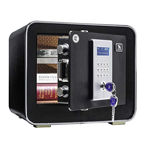 Tigerking Digital Safe Box, Safe for Home, Security Safe -0.85 Cubic Feet