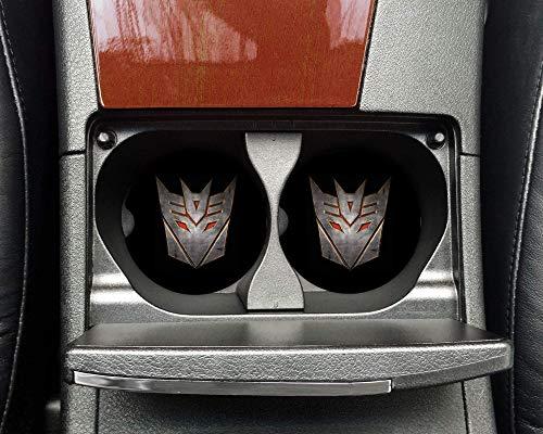 Decepticon Transformer Rubber Car Coasters (Set Of 2)- CC80