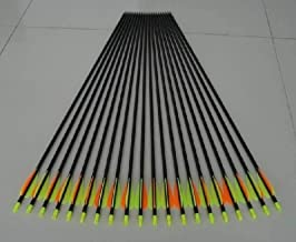 Golden Power Fiberglass Practice/Hunting Arrows Point for Recurve Bow or Traditional Bow