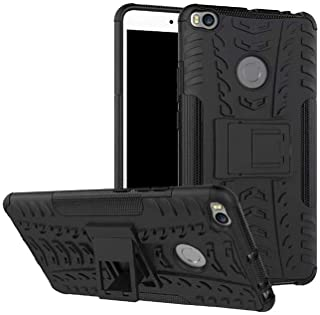 SKEIDO compatible with Xiaomi Mi Max 2 Hybrid Armor Hard Case with stand