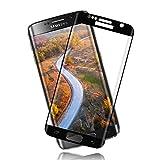 Full-Cover Vidrio Templado Protector de Pantalla para Samsung Galaxy S7 Edge [2 Piezas] [Anti-Huella] Película Protectora [Alta Definición] [ Anti Rasguños] [3D Touch ]