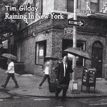 Raining in New York
