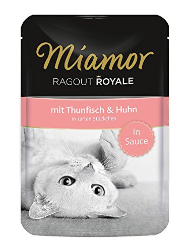 Miamor Ragout Royale in Sauce Thunfisch & Huhn 22x100g