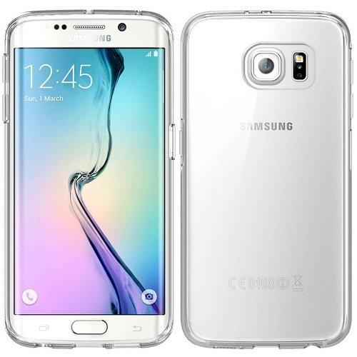 COPHONE Funda para Samsung Galaxy S6 EDGE Funda Silicona Transparente de Silicona Antideslizante. Transparente Carcasa Galaxy S6 EDGE Fino y Discreto. Alta protecció