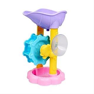 Zpong 1Pc Cute Baby Bath Toys Shower Kids Shower Waterwheel Dabbling Toy Dabbling Toy Baby Bath Toys Bathtub Foam Beach Sw...
