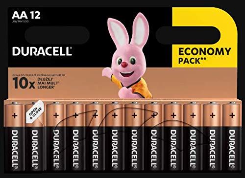 Duracell DUR018167 Plus - Pilas AA (12 unidades)