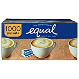 EQUAL Original Zero Calorie Sweetener, Sugar Substitute, 1000 Packets