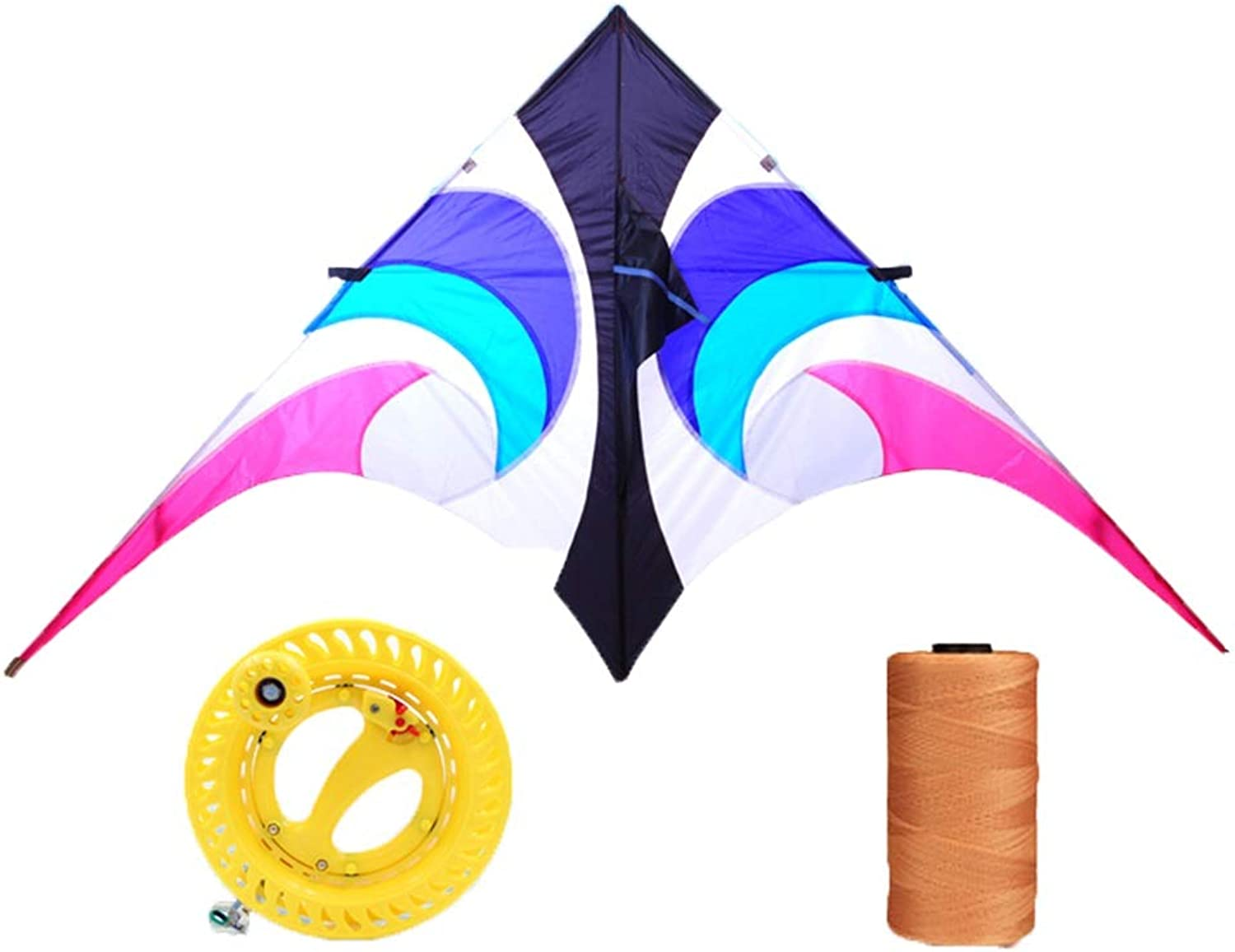 Kite Umbrella Cloth Adult Large Triangle 280 Cm Breeze Easy To Fly (Size   B)