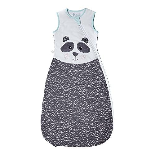 Tommee Tippee Babyschlafsack, Sommerschlafsack, Original-Grobag, 18-36m, 80-95cm, 1.0 Tog, Pip der Panda