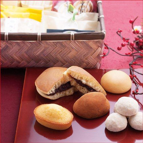 豪華 風呂敷包 和菓子ギフト 風呂敷包み 竹カゴ入お詰め合わせ K8 内祝い お礼 お供え ギフト
