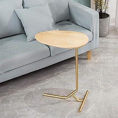 Tanto la sala de estar como el dormitorio, pueden ser una mesa de sofá, una mesa auxiliar, una bandeja de TV, una mesa auxiliar, una mesa de sofá, una mesa de café, etc., conveniente para varios usos cuando está sentado en el sofá para hacer cualquie...