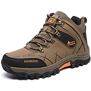 ONENICE Hiking Shoes Men Women Leather Breathable Walking Outdoor Trail Climbing Sneaker Camping Athletic Running Sport Travel Shoes:Eventmanager