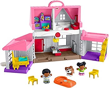 Fisher-Price Little People Big Helpers Home Pink