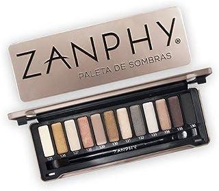 Paleta de Sombras, Zanphy, Nude Metálico