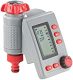 Royal Gardineer Digitaler Bewässerungscomputer BWC-100 mit Magnet-Ventil