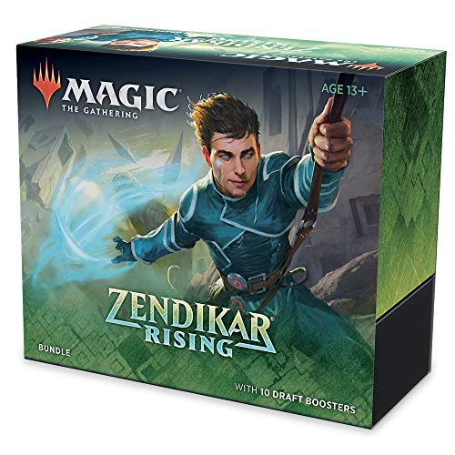 Magic The Gathering Zendikar Rising - Bundle Unisex Baraja Standard, Cartón,