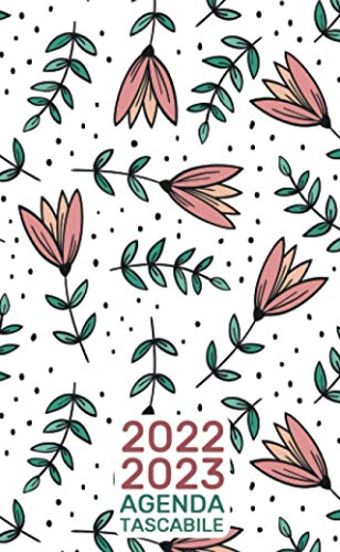 Agenda Tascabile 2022-2023:: 2 Anni, 24 Mesi da Gennaio 2022 a Dicembre 2023 Fiorellini di Primavera
