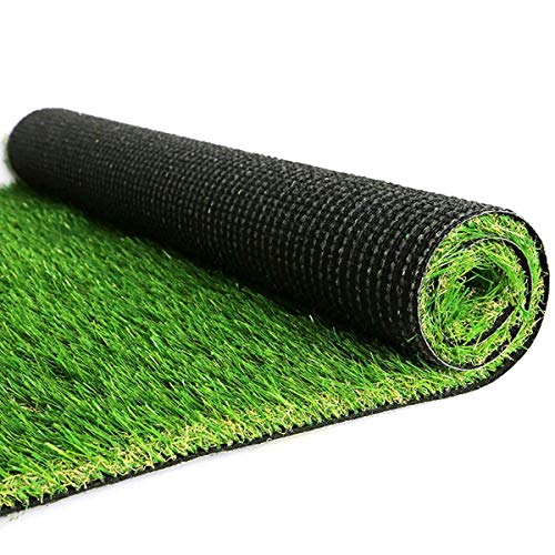 Synthetic Artificial Grass Turf,7FTx13FT Fake Faux Grass,Dogs Pee Pats Outdoor Faux Grass Mat Rug Carpet Garden Lawn Landscape Grass Mat