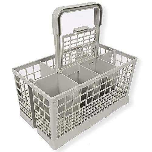 YJYLL Cesta Universal para Cubiertos Caja de Almacenamiento de Cubiertos para Muchos lavavajillas 240 x 136 mm Accesorio de Cocina