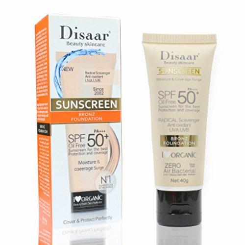 BB Cream Anti-Aging Oil-Control SPF 50 PA ++ Long Lasting Sunscreen...