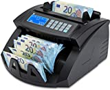 ZZap nc20i–Contador de billetes & Detector de dinero falso–Cuenta 1000billetes por minuto, Ramo de zählung, 5aumentos, detección de dinero falso y mucho más.