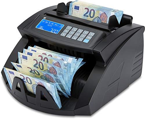 ZZap NC20i Banknotenzähler & Falschgeld-Detektor - Geldzählmaschine Geldzähler Banknotenzählmaschine