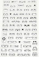 [ARTASY WORKSHOP®][並行輸入品] 可愛い 夜光 3D 三次元 立体 ステッカー カラフル 兔 猫 顔文字 熊 表情 フクロウ 可愛い 花 手作り 紙 レター 手紙シール デコレーション 飾り 3D Sticker (CZ-22)
