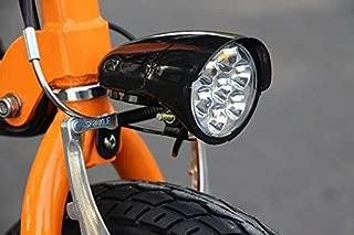 Letgoing Electric Bike E-Bike Electric Scooters Headlight for 36V 48V Battery