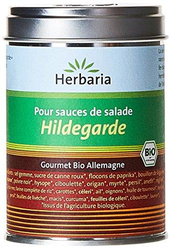 Herbaria Hildegarde Mélange d'Épices pour les Salades Bio Boîte de 100 g