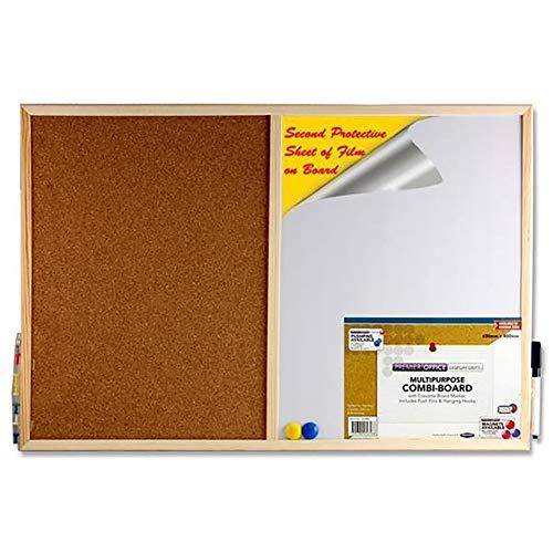 Premier Stationery 56588 - Tabla multiusos con marcador borrable
