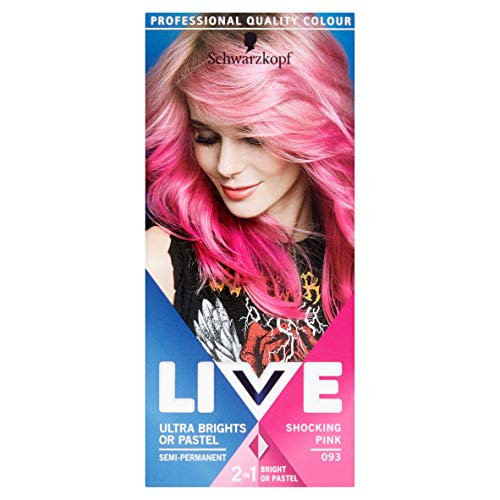 Schwarzkopf LIVE Color XXL Ultra Brights 93 Shocking Pink