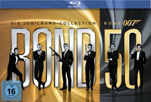 James Bond - Bond 50: Die Jubiläums-Collection (ohne Skyfall) [Blu-ray]