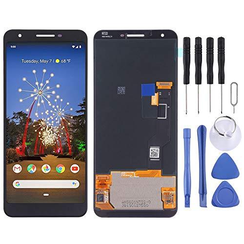 Für Google Pixel 3a XL Display Full OLED LCD Einheit Touch ohne Rahmen Ersatzteil Reparatur Schwarz Neu