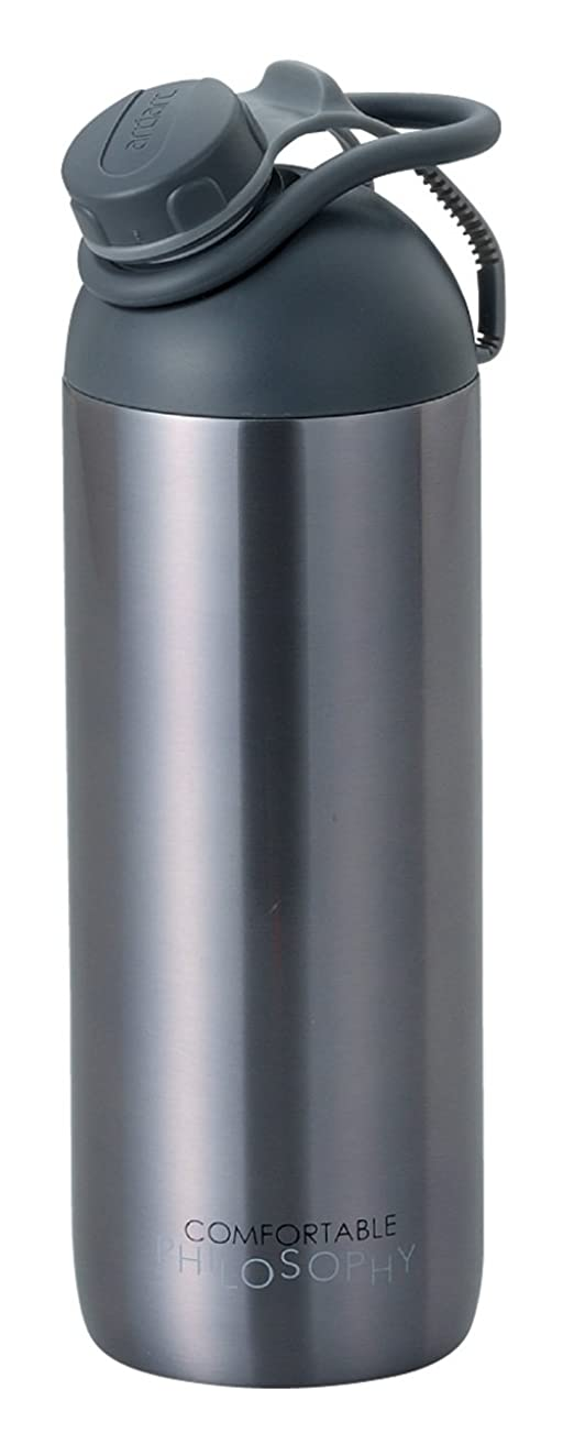 容量一掃する尋ねるサクションサーモボトル(グレー)SS‐A 51239