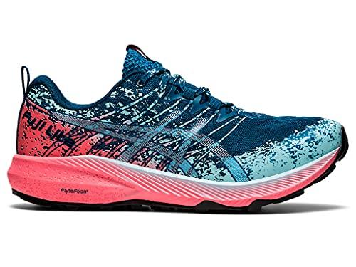 ASICS Women's Fuji Lite 2 Running Shoes, 10.5, DEEP SEA Teal/Pure Silver