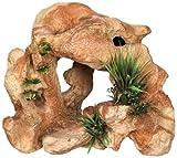 Nobby Roca de Lava no tóxica con Plantas Ornamentos para Acuario, 28,5 x 18,5 x 24 cm