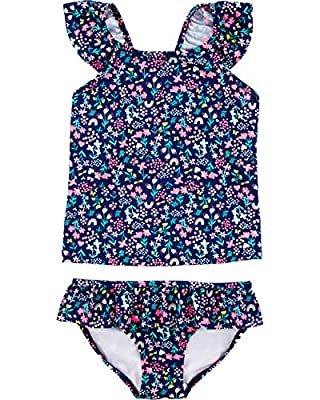 Carter's Baby-Girls Swimwear Set (Floral Tankini, 9m)
