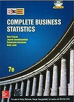 Complete Business Statistics [Paperback] [Jan 01, 2006] Aczel