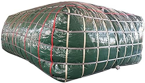 WXking Bolsa de almacenamiento de contenedor de agua plegable al aire libre, cubo de almacenamiento de emergencia portátil de gran capacidad, cubo de resistencia a la sequía de irrigación agrícola mon