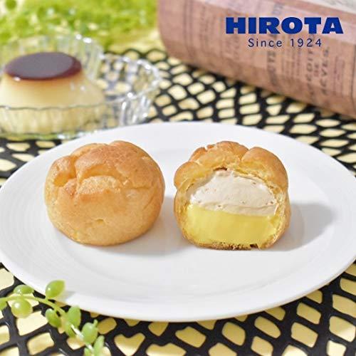 ヒロタのシュークリーム プリン&カラメルホイップ 1箱4個入 (1個27g)