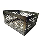 LavaLock Total Control BBQ Charcoal Basket Smoker Pit (fire Box Basket) 12 x 10 x 6 Laser Cut