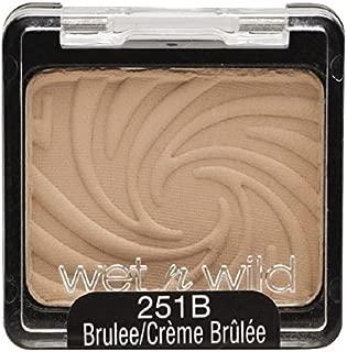 Wet n Wild Color Icon Eyeshadow Single, Brulee [251B] 0.06 oz (Pack of 3)