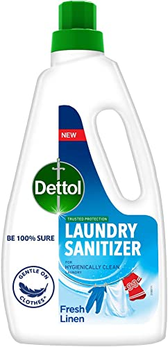 Dettol After Detergent Wash Liquid Laundry Sanitizer Fresh Linen 960ml