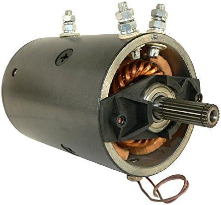20 Spline Mrvb4 Mrvb7 11212449 15747 15877 17102 18184 226626 26629 458058 7536 7682 AMJ4635 D-2000 9130450047 Mrvb5 DB Electrical LRW0016 New Winch Motor for 12 Volt Warn Double Ball Bearing 6Hp